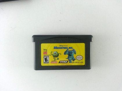 Monsters Inc game for Nintendo Gameboy Advance - Loose