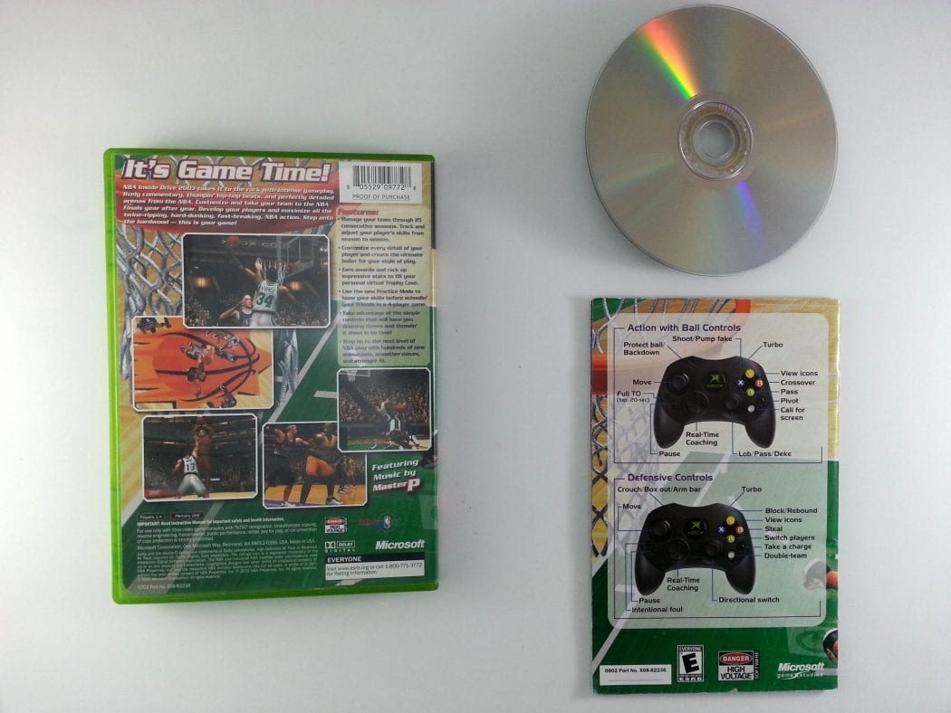 NBA Inside Drive 2003 game for Xbox (Complete)   The Game Guy