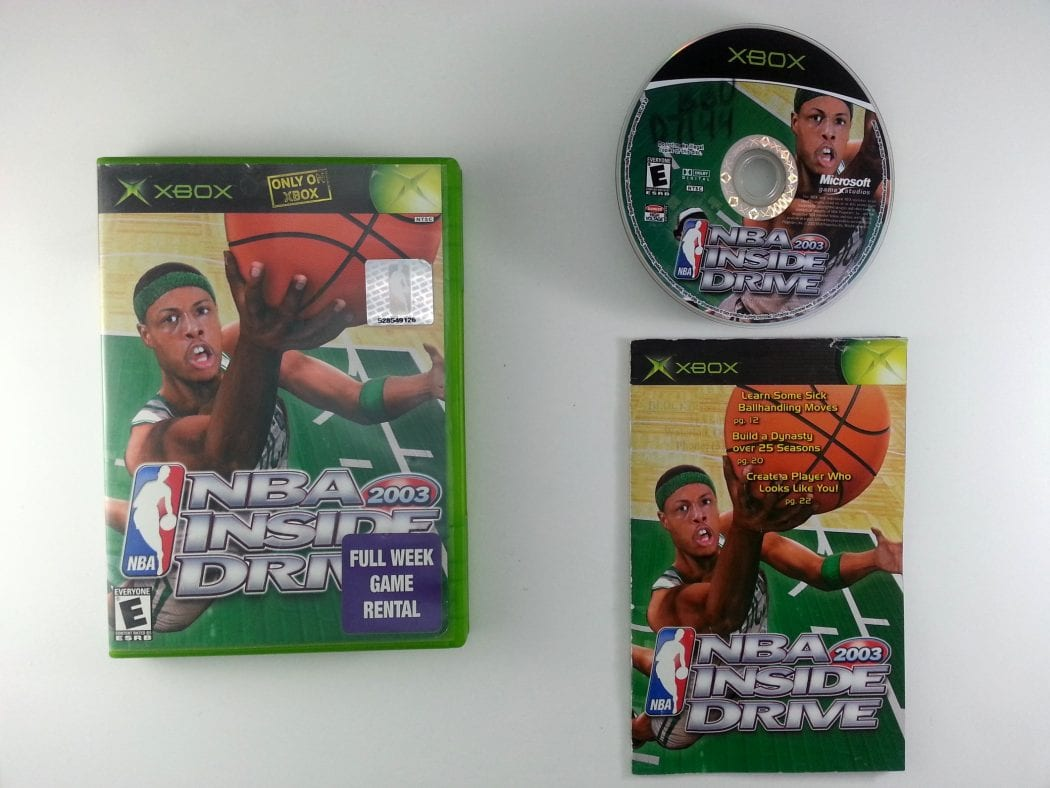 NBA Inside Drive 2003 game for Microsoft Xbox -Complete