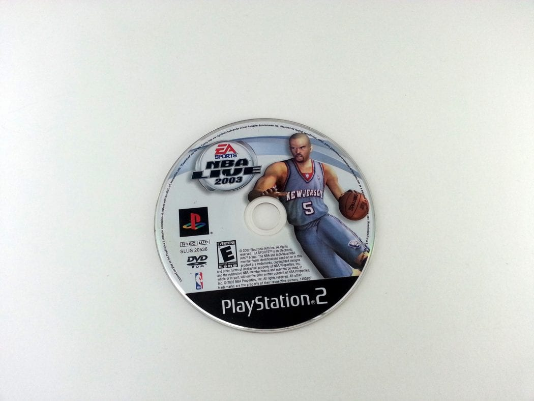 NBA Live 2003 game for Sony Playstation 2 PS2 - Loose