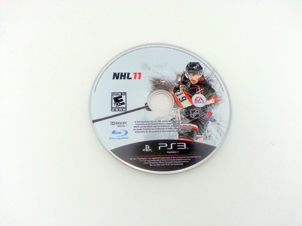 NHL 11 game for Sony Playstation 3 PS3 - Loose