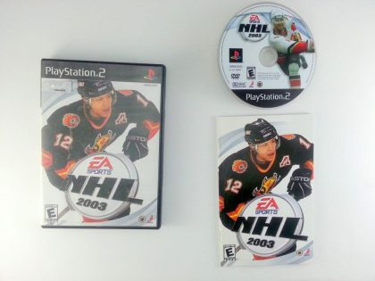 NHL 2003 game for Sony Playstation 2 PS2 -Complete