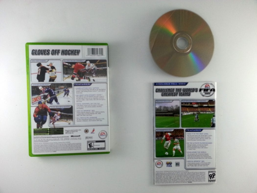NHL 2004 game for Xbox (Complete)   The Game Guy