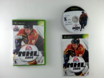 NHL 2004 game for Microsoft Xbox -Complete