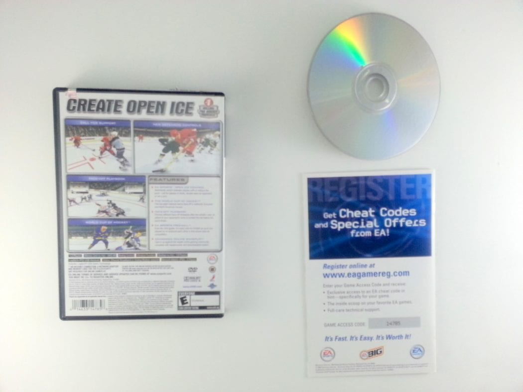 NHL 2005 game for Playstation 2 (Complete) | The Game Guy