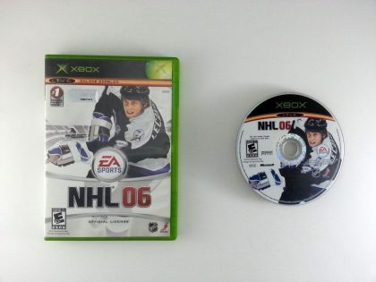 NHL 2006 game for Microsoft Xbox -Game & Case