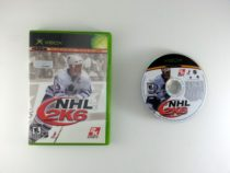 NHL 2K6 game for Microsoft Xbox -Game & Case