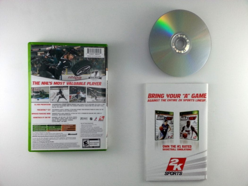 NHL 2K7 game for Xbox (Complete) | The Game Guy