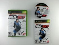 NHL 2K7 game for Microsoft Xbox -Complete