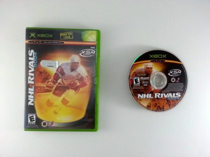 NHL Rivals game for Microsoft Xbox -Game & Case