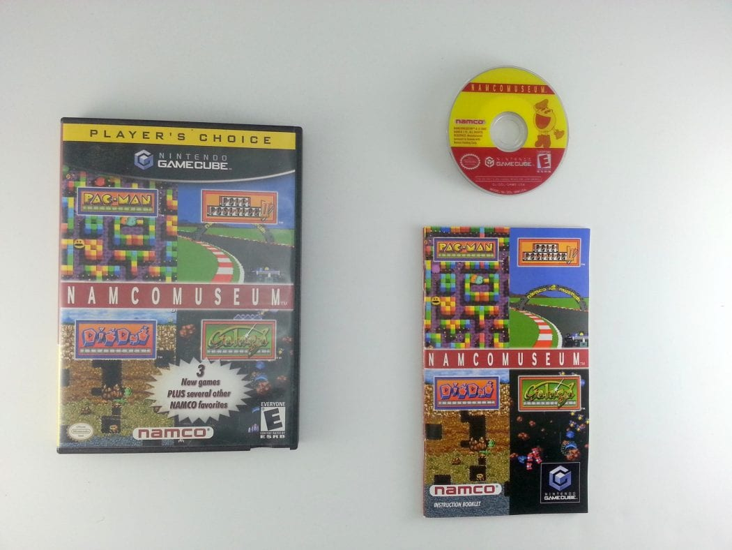 namco museum game for gamecube complete the game guy