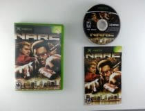 Narc game for Microsoft Xbox -Complete