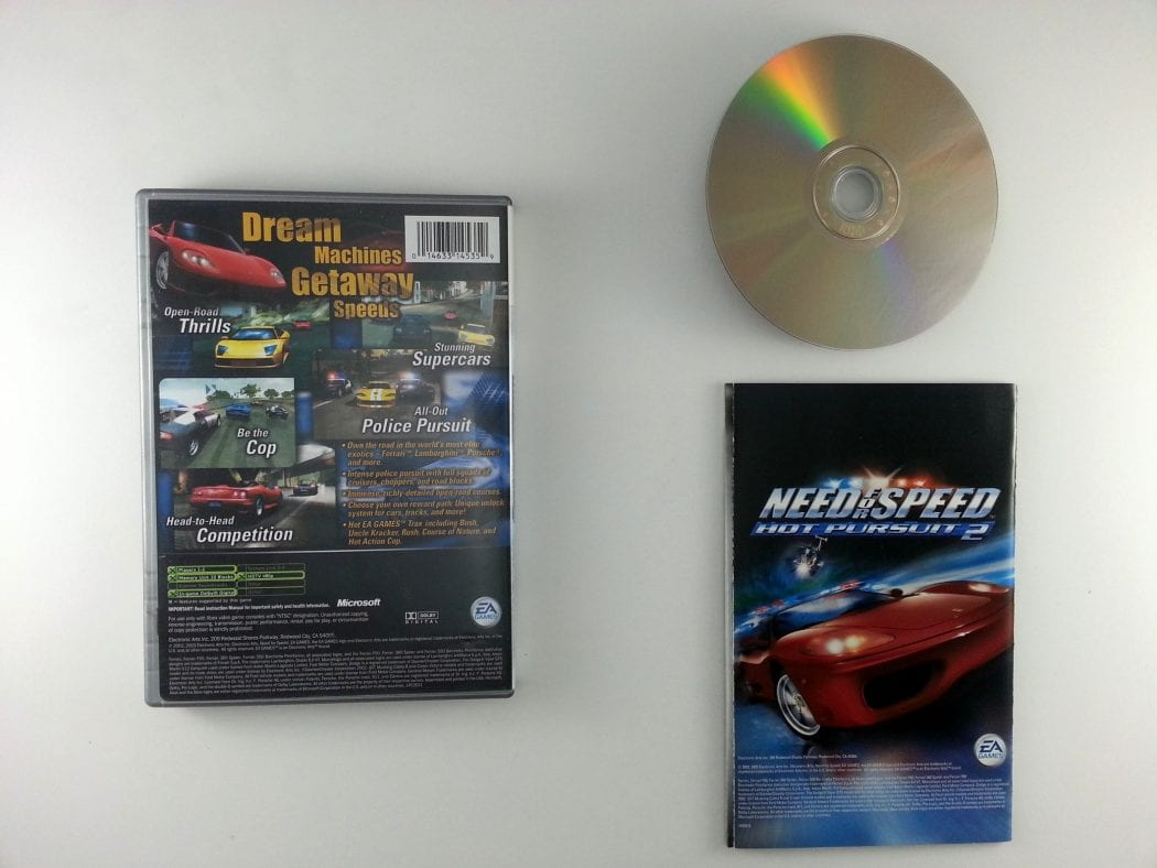 Need for Speed 2 Hot Pursuit game for Xbox (Complete) | The Game Guy