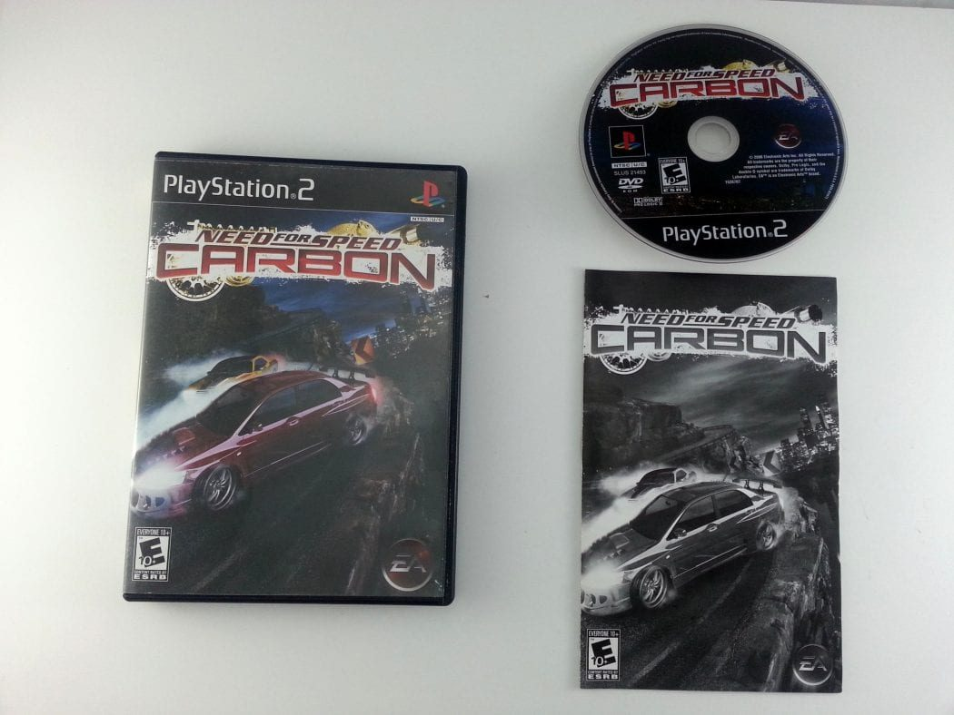 Need for Speed Carbon game for Sony Playstation 2 PS2 -Complete