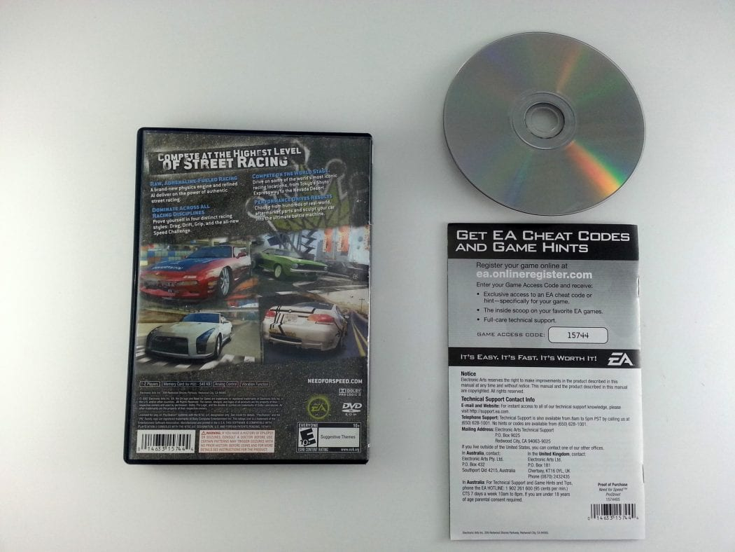 Need for Speed Prostreet game for Playstation 2 (Complete) | The Game Guy
