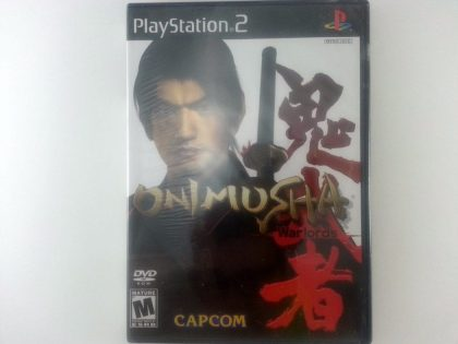 Onimusha Warlords game for Sony Playstation 2 PS2 - New