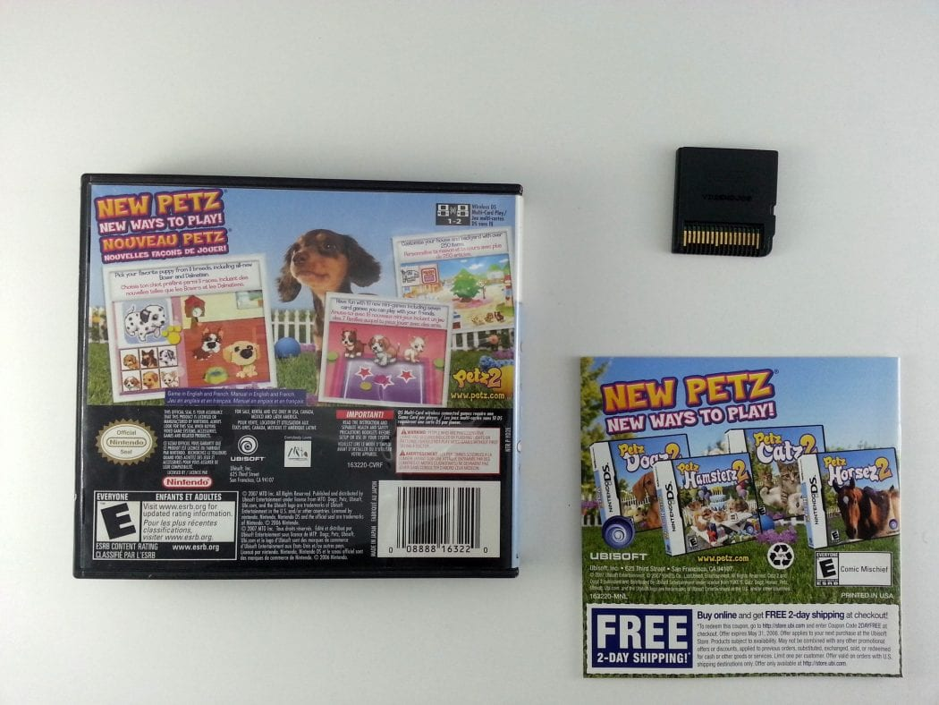 Petz Dogz 2 game for Nintendo DS (Complete) | The Game Guy