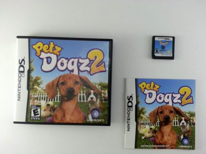 Petz Dogz 2 game for Nintendo DS -Complete