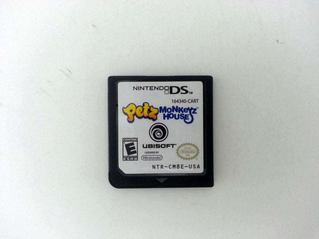 Petz Monkeyz House game for Nintendo DS - Loose