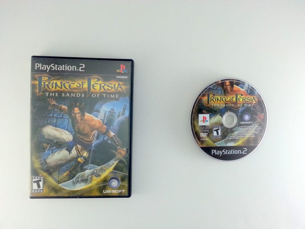 Prince of Persia Sands of Time game for Sony Playstation 2 PS2 -Game & Case