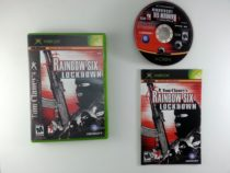 Rainbow Six 3 Lockdown game for Microsoft Xbox -Complete
