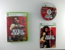 Red Dead Redemption game for Microsoft Xbox 360 -Complete