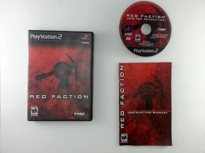 Red Faction game for Sony Playstation 2 PS2 -Complete