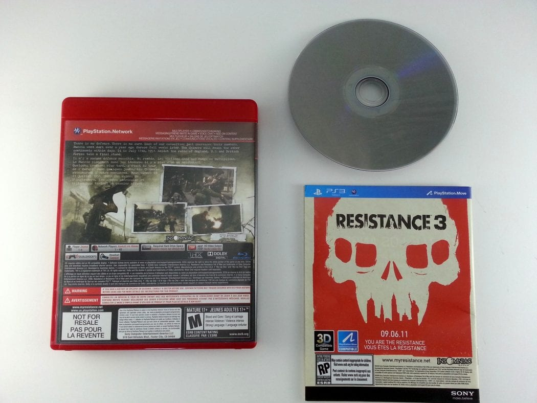 Resistance Fall of Man game for Playstation 3 (Complete) | The Game Guy