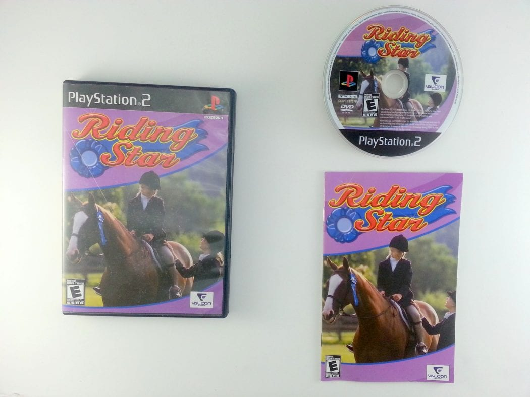 Riding Star game for Sony Playstation 2 PS2 -Complete