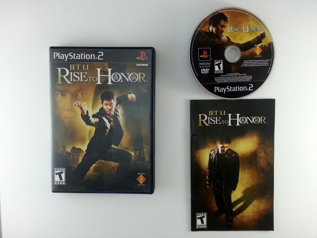 Rise to Honor game for Sony Playstation 2 PS2 -Complete