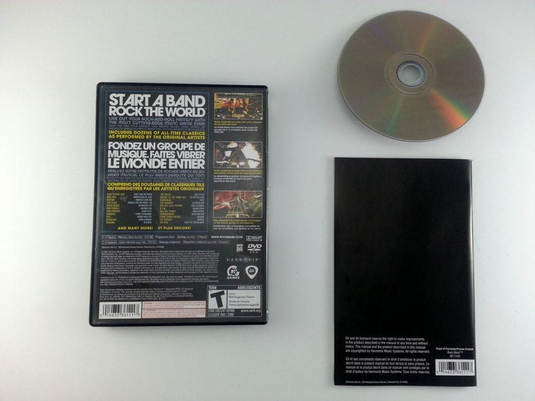 Rock Band game for Playstation 2 (Complete)   The Game Guy