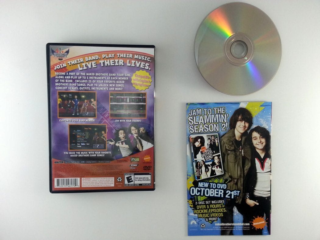Rock University Presents The Naked Brothers Band game for Playstation 2 (Complete) | The Game Guy