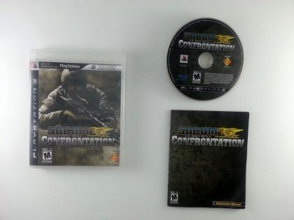 SOCOM Confrontation game for Sony Playstation 3 PS3 -Complete