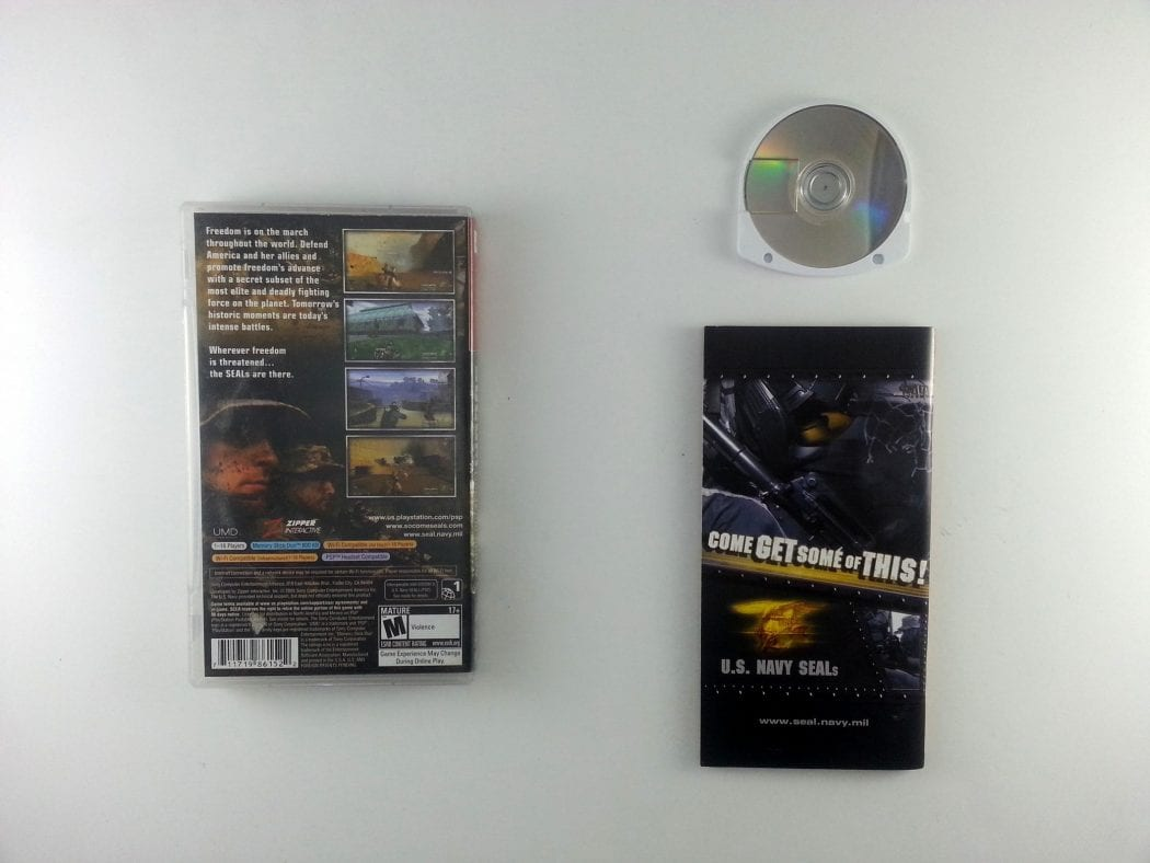 SOCOM US Navy Seals Fireteam Bravo game for PSP (Complete) | The Game Guy