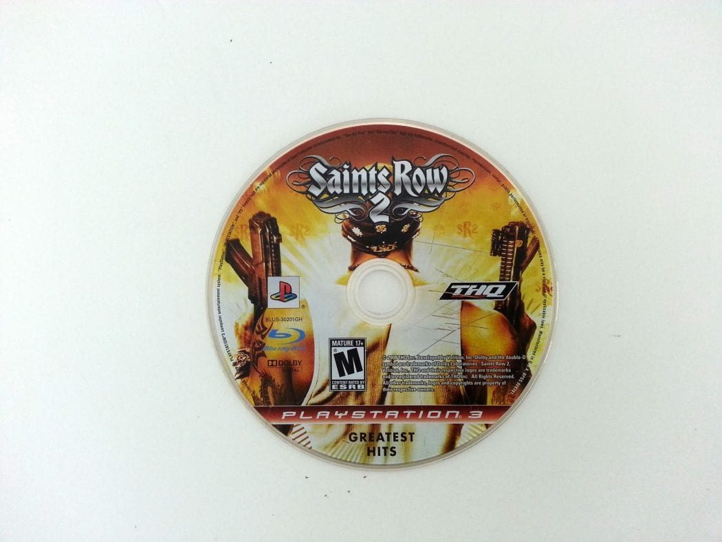Saints Row 2 game for Playstation 3 (Loose) | The Game Guy
