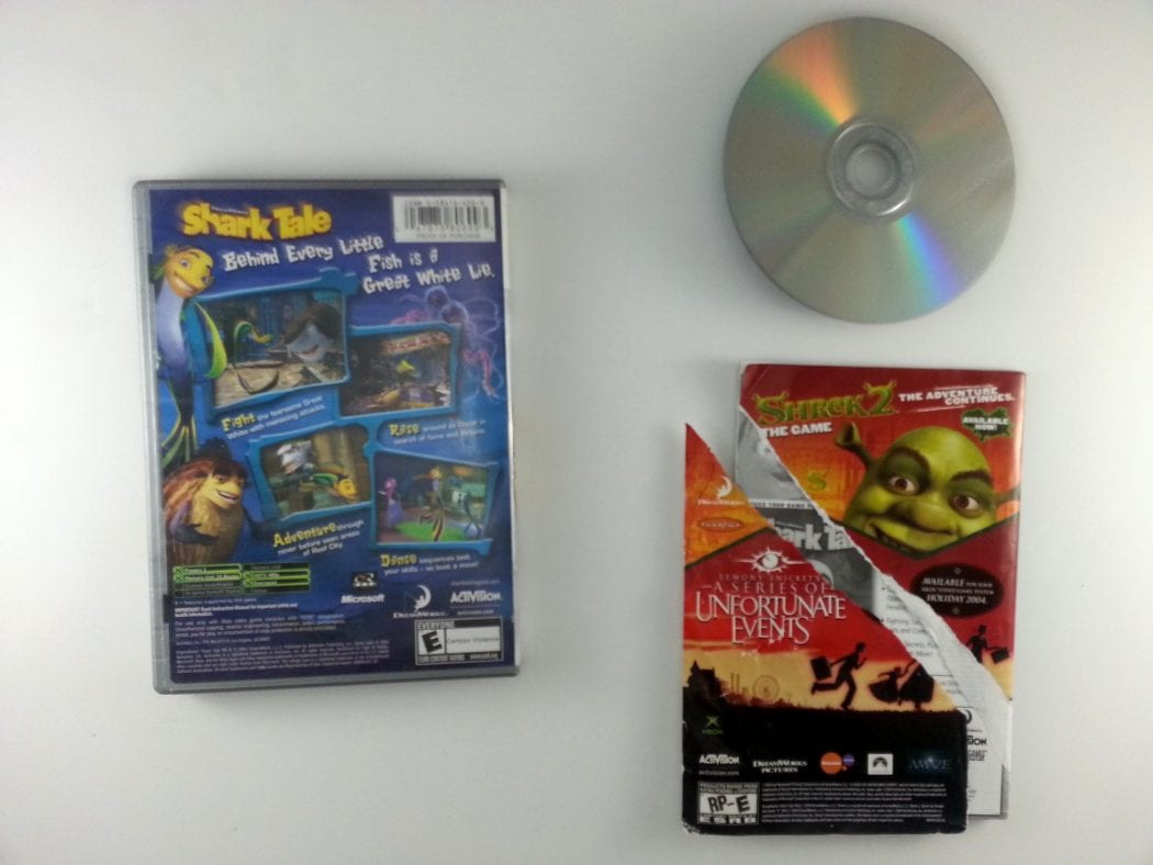 Shark Tale game for Xbox (Complete) | The Game Guy