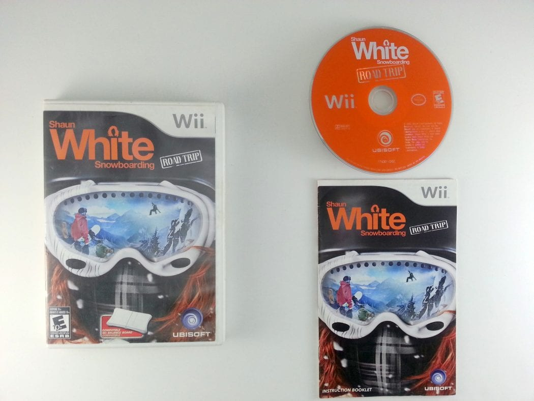 Shaun White Snowboarding Road Trip game for Nintendo Wii -Complete