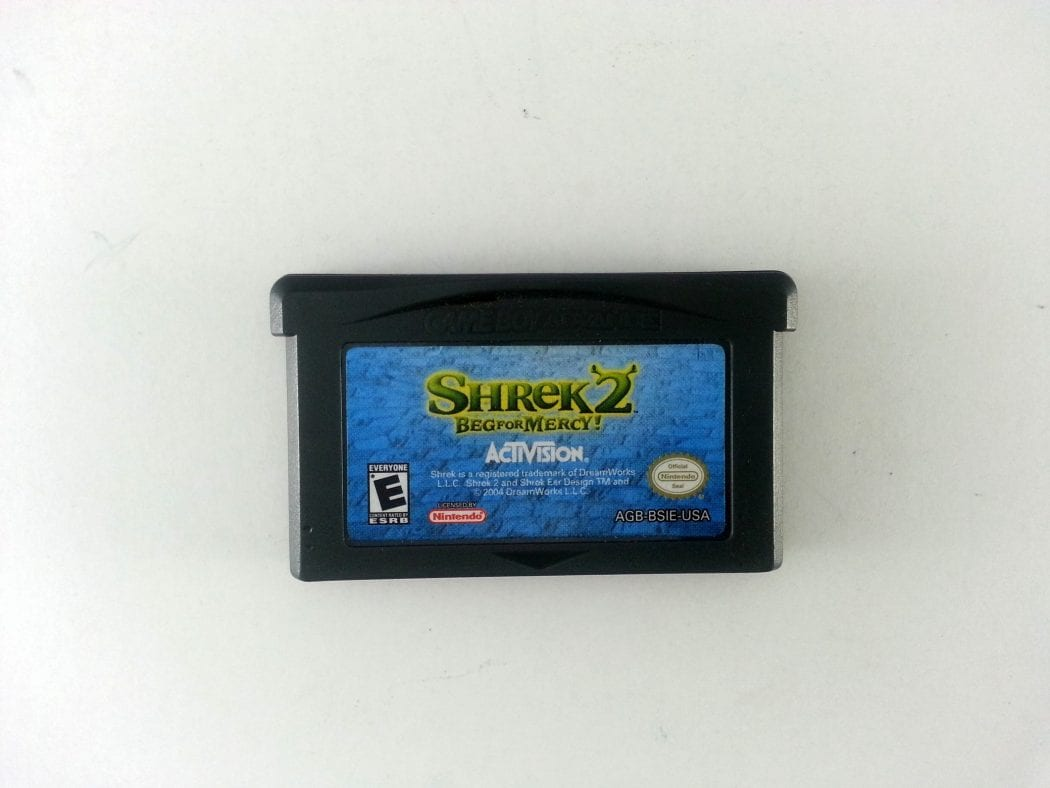 Shrek 2 Beg for Mercy game for Nintendo Gameboy Advance - Loose