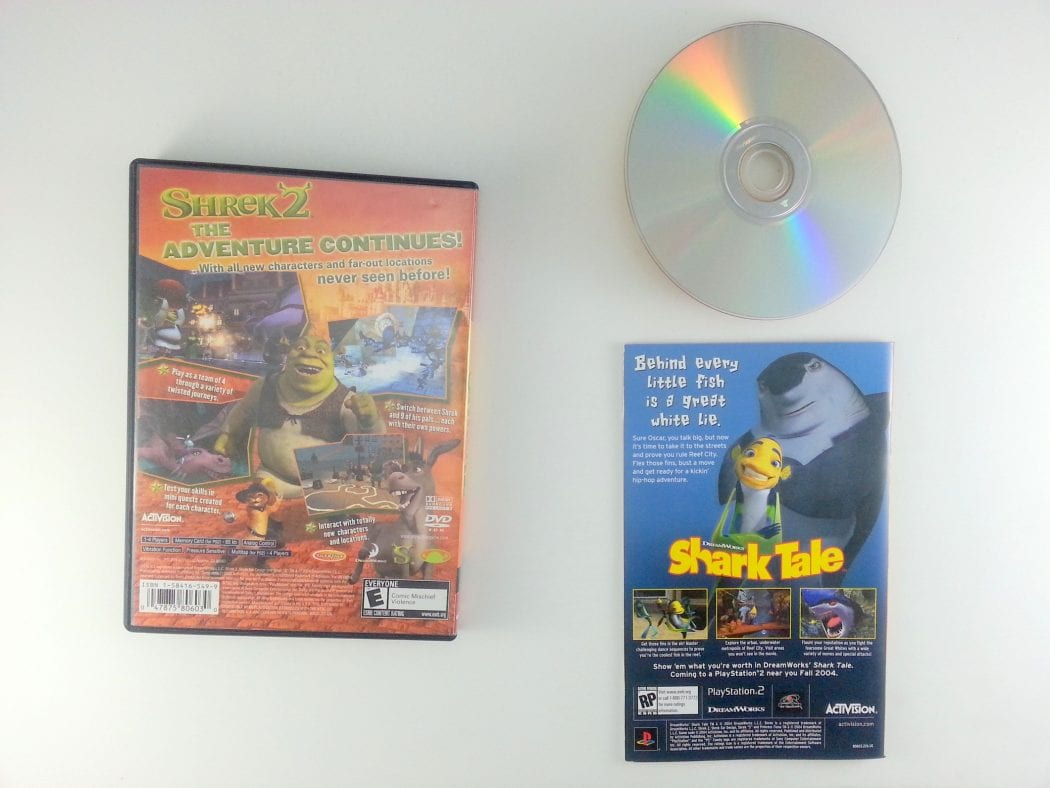Shrek 2 game for Playstation 2 (Complete) | The Game Guy
