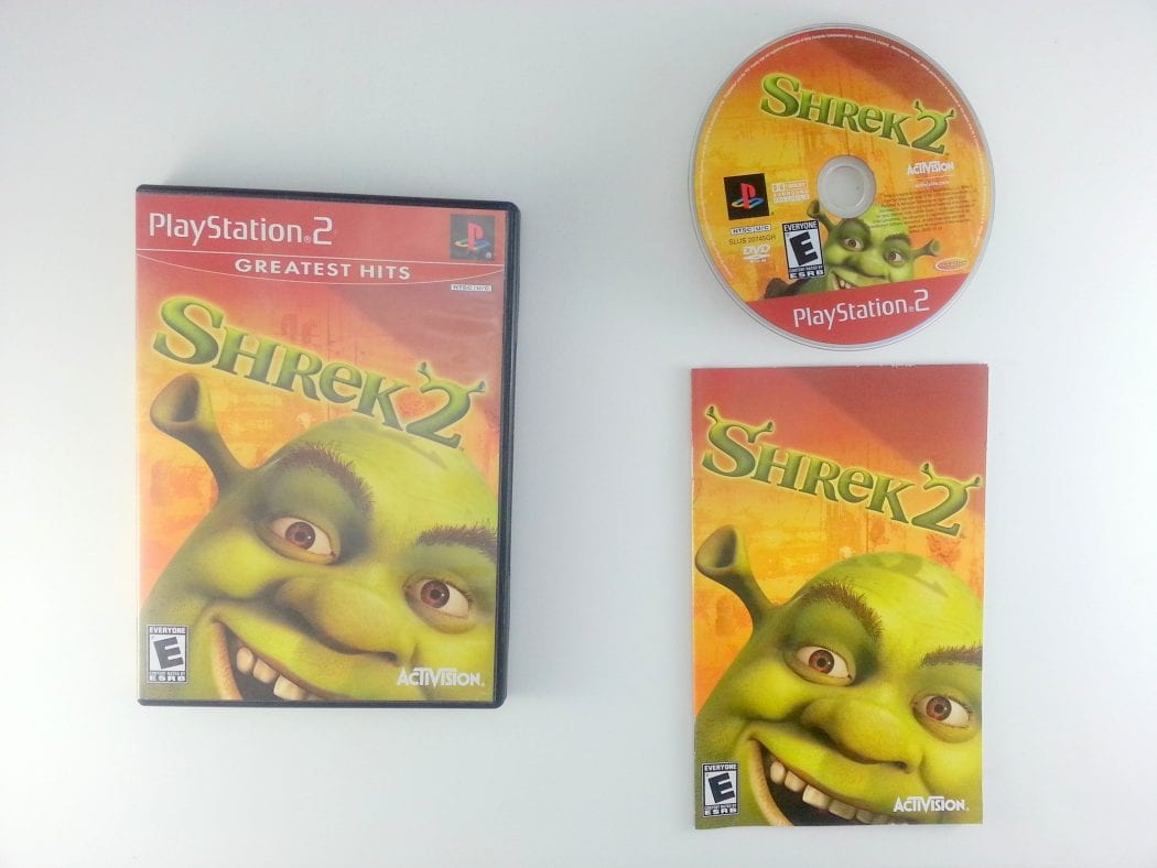 Shrek 2 game for Sony Playstation 2 PS2 -Complete