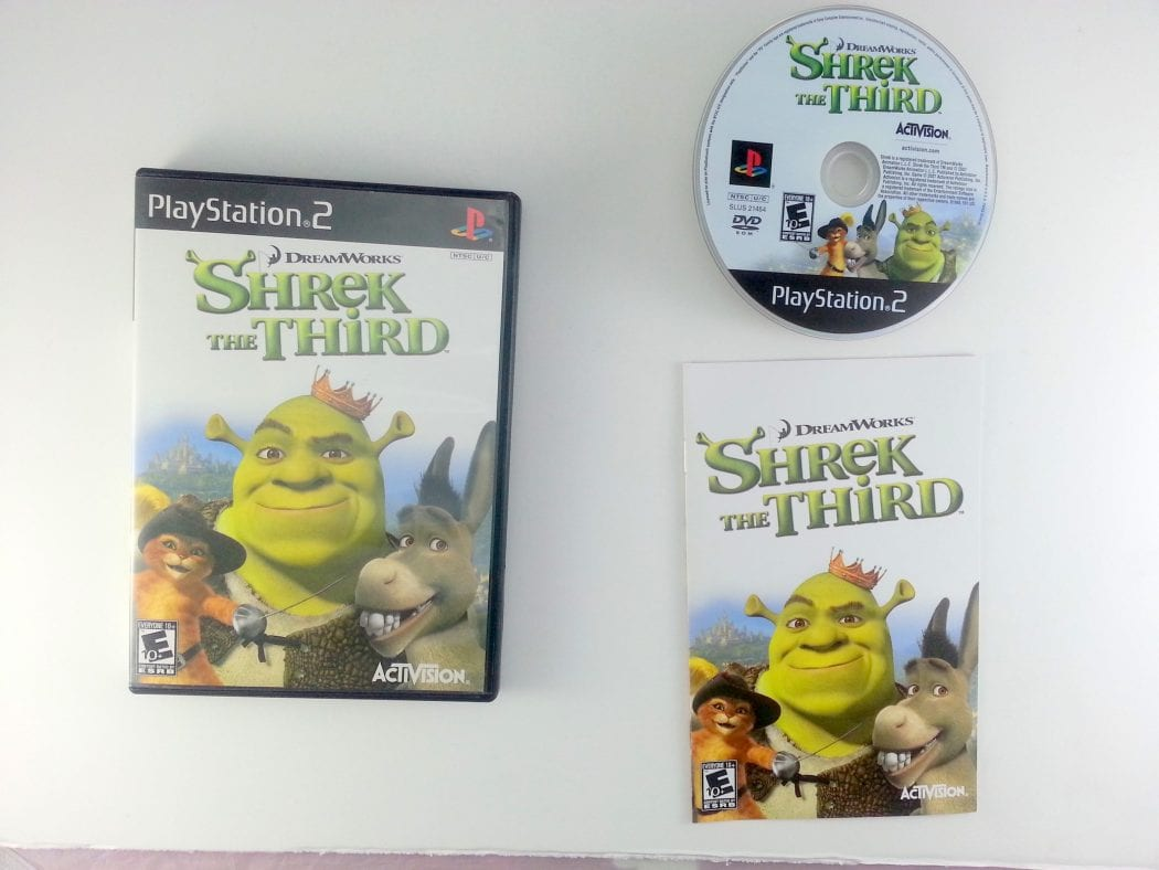 Shrek the Third game for Sony Playstation 2 PS2 -Complete