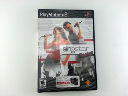 Singstar Rocks game for Sony Playstation 2 PS2 - New