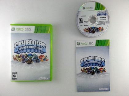 Skylanders Spyro's Adventure game for Microsoft Xbox 360 -Complete