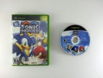 Sonic Heroes game for Microsoft Xbox -Game & Case
