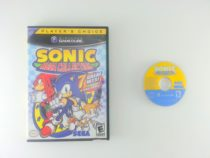 Sonic Mega Collection game for Nintendo Gamecube -Game & Case