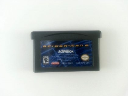 Spiderman 2 game for Nintendo Gameboy Advance - Loose