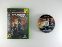 Splinter Cell Pandora Tomorrow game for Microsoft Xbox -Game & Case
