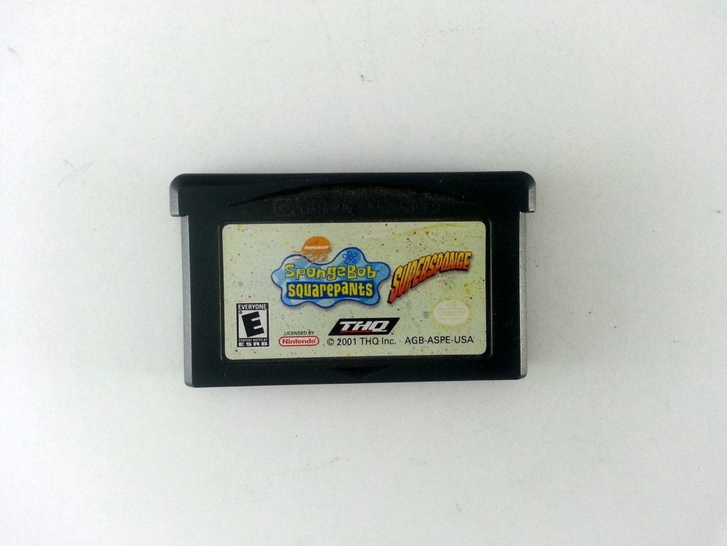 SpongeBob SquarePants Super Sponge game for Nintendo Gameboy Advance - Loose