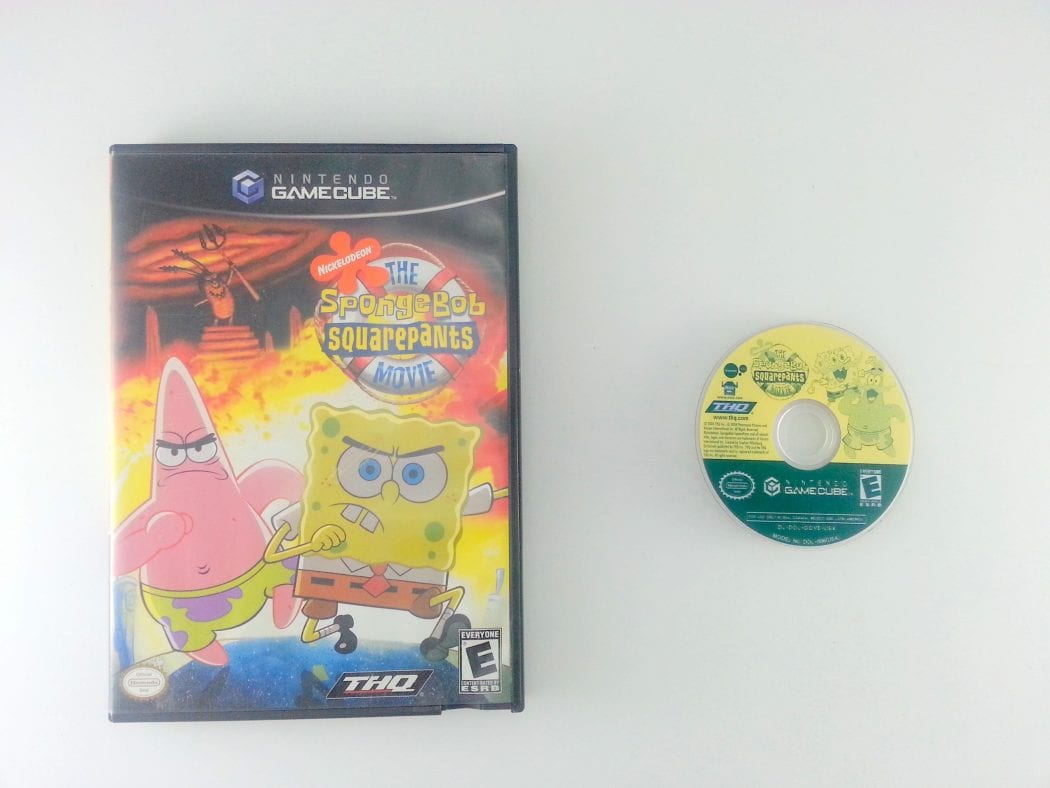 spongebob squarepants the movie game for gamecube the