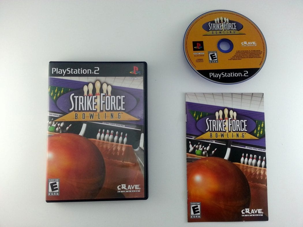 Strike Force Bowling game for Sony Playstation 2 PS2 -Complete